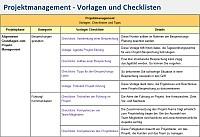 Projektmanagement - Vorlagen, Checklisten und Tipps | IT Process Wiki